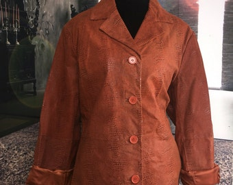 100% Genuine Leather Coat