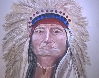 Original Painting, Native American