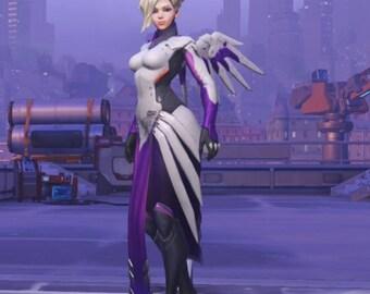 Mercy Witch Overwatch Halloween Legendary Skin cosplay custom