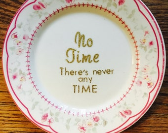 No Time plate