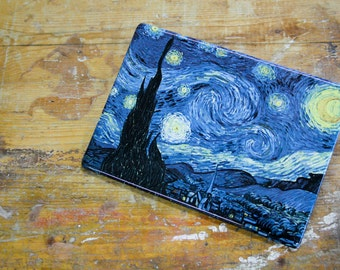 "the ""starry night"" by Vincent van Gogh-printing on ceramics"