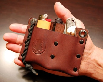 EDC Valet - Leather Pocket Organizer