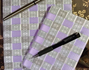 Purple and Grey Notebook Set