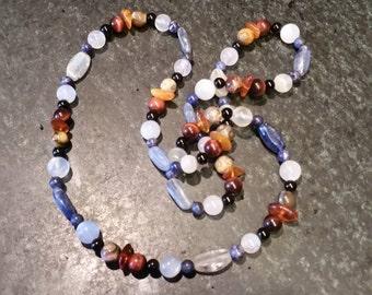 Healing Necklace Gemstones