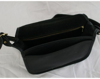 Vintage Black Coach Classic Pouch, Coach Purse, Coach Shoulder Bag