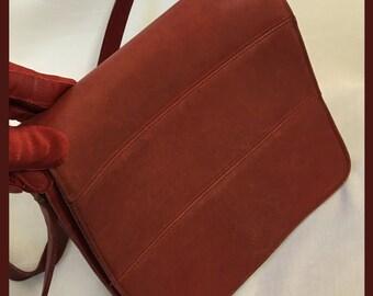 Vintage Red Coach Purse/Coach Bag/ Shoulder Bag