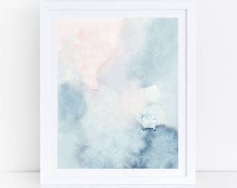 OVERSIZED Print, Large Watercolor PRINTABLE Art, Large Wall Art, 30x40 Print, 30x40 Printable Art, 24x36 Abstract Printable Art, Abstract