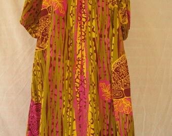 MAXI Summer Dress 'African'
