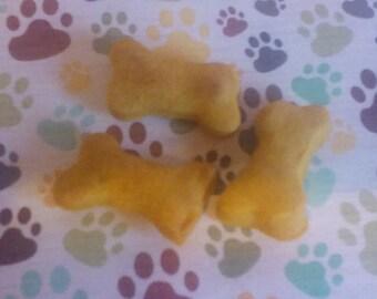 Mini Pumpkin & Peanut Butter Dog Bones