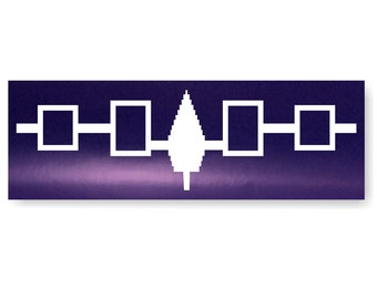 Iroquois Wampum Belt Decal