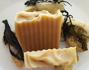 Lemongrass & Kelp Coconut Milk Soap