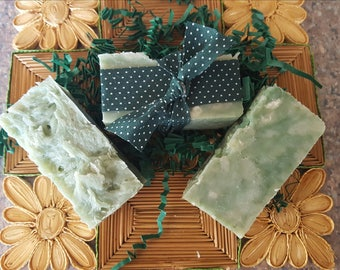 Fresh Cut Grass & Bamboo Coconut Milk Soap