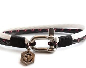 Black and White rope bracelet