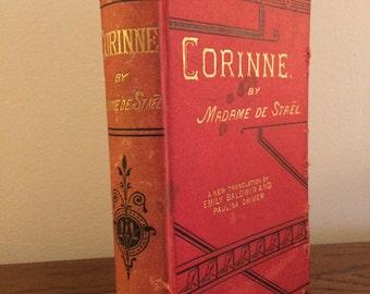 Corinne by Madame de Stael