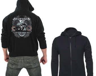 Zipper hoodie Bobber bike