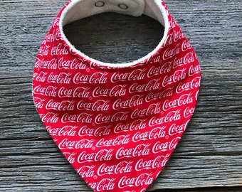 Bibdana, Bib, Baby Bib, Baby Bib, Drool Catcher, Coca Cola Bib