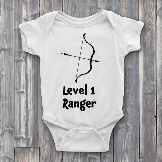 Level 1 Ranger 100% Soft Cotton Gamer ONESIE
