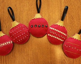 Handcrafted Bauble Christmas Tree Decoration