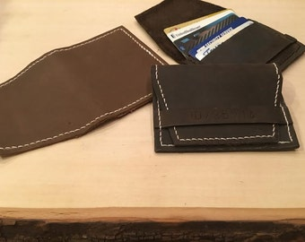 Leather Front Wallet