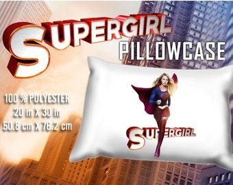 Supergirl Melissa Benoist Pillowcase
