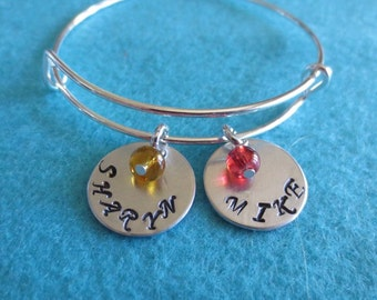 Mother's Day Or Any Day Personalized Name and Birthstone