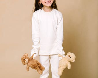 Pyjama pants, Anti-bacterial, Hypoallergenic, Kids Natural clothes, Children's Eco, Eczema, Atopic dermatitis