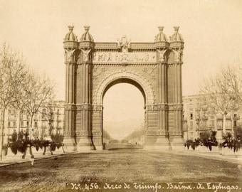 Esplugas. Barcelona.456. Arco de Tiunfo. SPAIN