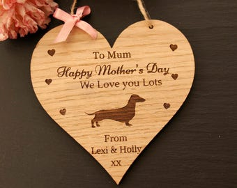 Dachshund Mother's Day Gift, Mother's Day Gift from the Dog, Dachshund Gift,Mother's Day Gift, Mother's Day Gift for Dog Lovers, Mothers Day