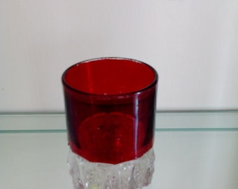 Ruby Stained Glass - Tumbler - Torpedo