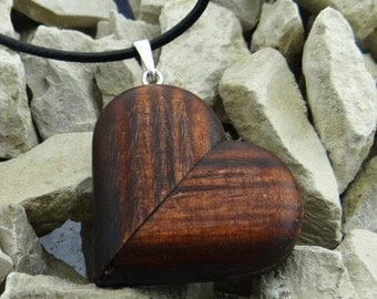 how to make a wooden heart locket