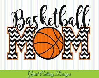 Basketball SVG Cut File basketball mom svg DXF cut file Cricut svg Silhouette svg Vinyl Cut File Digital cut file Cricut cut cut t shirt