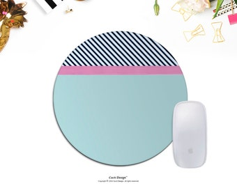 Modern Mouse Pad Stripes Mouse Pad