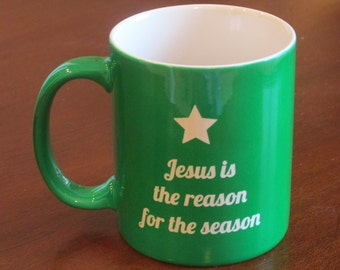 Engraved Coffee Cup,Christmas Coffee Cup, Christmas tree mug, Personalized Coffee Mug, Coffee Mug, Coffee Cup