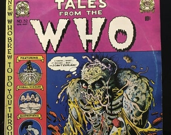 ON SALE Vintage 1974 The Who Tales from the Who RARE Vinyl Record Good Condition