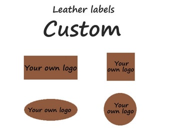 Leather labels, Leather tags, Leather patchwork, Logo labels, Genuine leather labels, Custom made any size, shape and design.