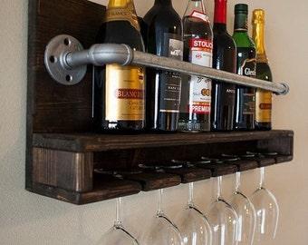 Wine wall bar