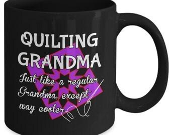 Quilting Grandma Mug