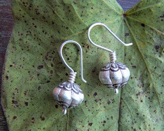 Silver Jewellery. Ethnic Jewellery. Sterling Silver earrings. Silver earrings. Silver jewelry. Ethnic earrings. Ethnic jewelry.