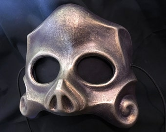 Purple/Bronze Skull Mask