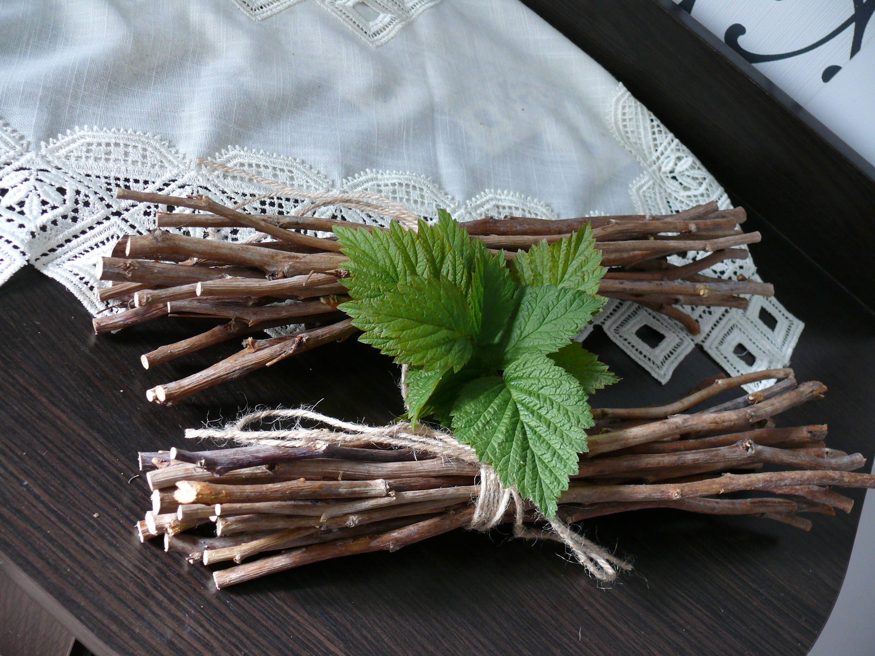 Branches Of Raspberry Home Decor Natural Branches Wood