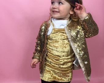 Gold Velvet slip