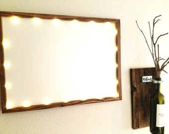 customize me 18x24 lighted frame led lights handmade hand painted wood frame custom calligraphy art wall art