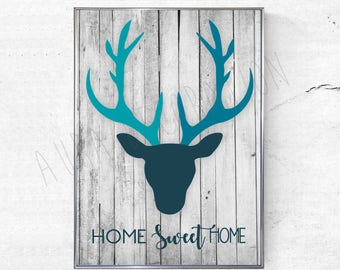 Poster / frame decor - Home Sweet Home