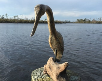 Shore bird decoy# 21