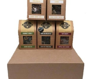 Large Tea Gift Hamper (x5 Tea Boxes)