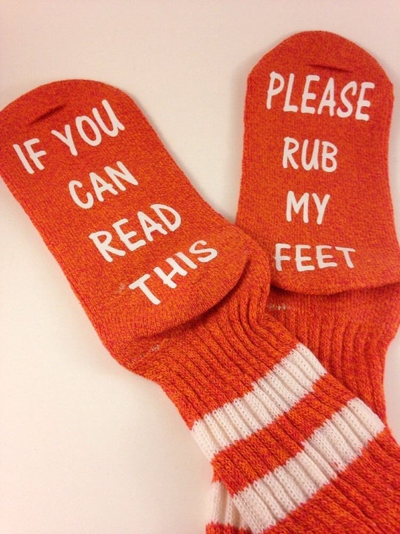 Womens Socks crews if you can read this... please rub my feet