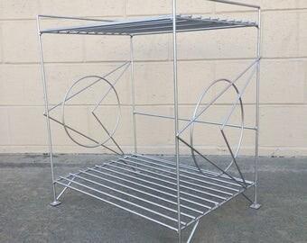 Mid-century modern, Googie-style shelving