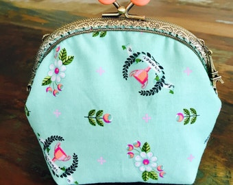 Large Fabric Coin Purse