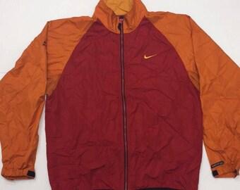 Vintage Red/Orange Nike Windbreaker