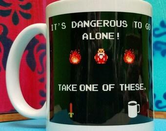 Its Dangerous To Go Alone Mug